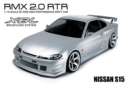 533705S RMX 2.0 RTR NISSAN S15 (silver) (brushless)