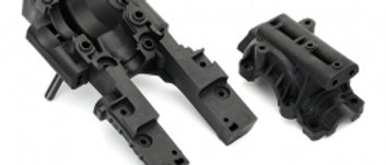 TRA8630 Traxxas Bulkhead, front (upper & lower)4x12mm BCS (6needs 8622 chassis)