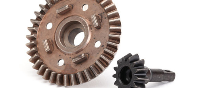 TRA8679 Traxxas Ring gear, differential/ pinion gear, differential