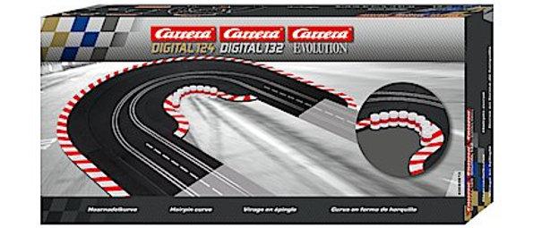 Carrera 20613 Hairpin Curve 1/60, Digital 124/132 & Analog