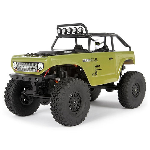 1/24 SCX24 Deadbolt 4WD Rock Crawler Brushed RTR(green)