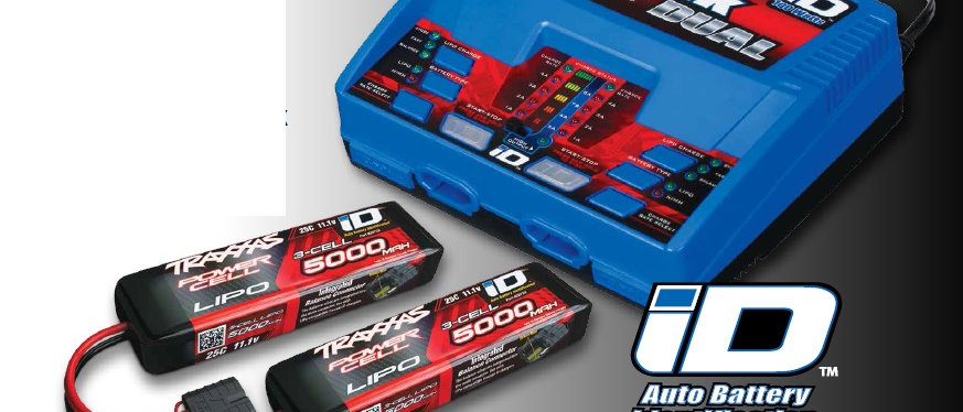 TRA2990 Traxxas EZ-Peak Dual Multi-Chemistry Battery Charger (TRA2972)