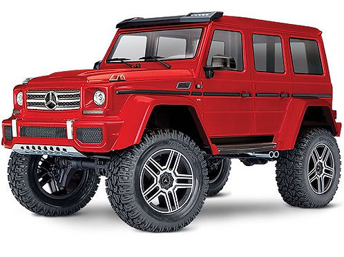 Traxxas TRX4 Mercedes G 500 4X4 1/10 Crawler, XL-5 HV, Titan 12T Rouge