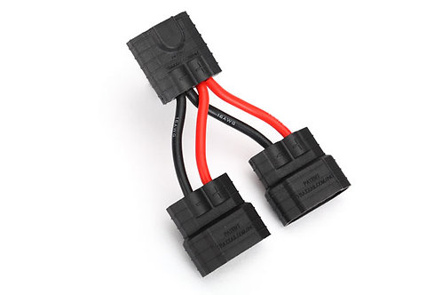 TRA3064X Traxxas Parallel Battery Wire Harness (Traxxas ID) for use with 2/3A ba