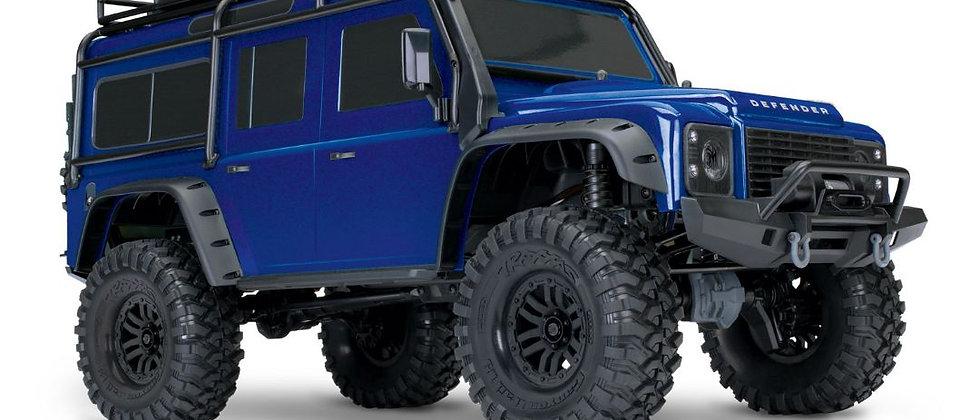 Traxxas TRX4 Land Rover Defender 1/10 Crawler Blue