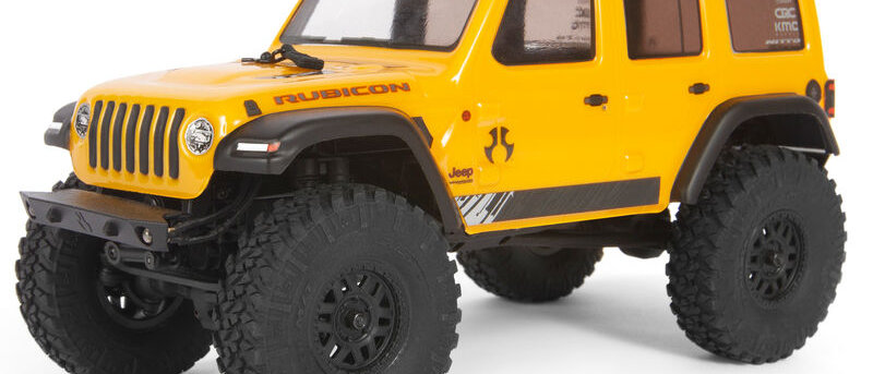 1/24 SCX24 Jeep Wrangler  4WD Rock Crawler Brushed RTR I