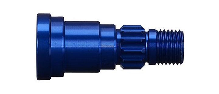 TRA7753 Traxxas X-Maxx Aluminum Stub Axle (Blue)