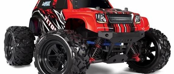 Traxxas LaTrax Teton 1/18 4WD RTR Monster Truck(REDX)