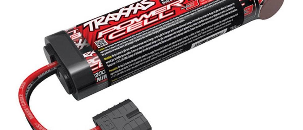 TRA2940X Traxxas Series 3 Power Cell 3300mAh 8.4V NiMH iD Plug Flat