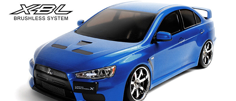 533108 MST Evo X  RMX 2.0 1/10 2WD Brushless RTR Drift Car(bleu)