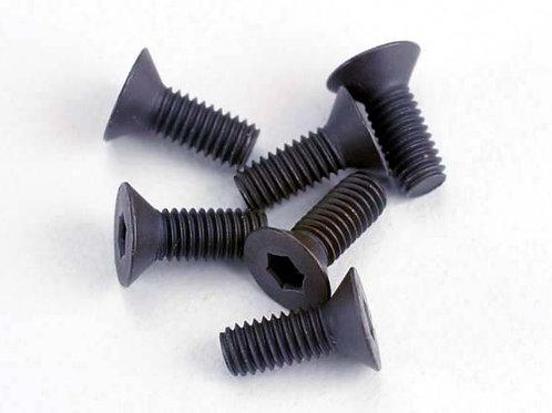 TRA2550 Traxxas 3x8mm Flat Head Screw (6)