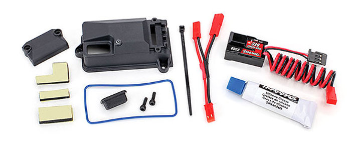 TRA2262 Traxxas BEC, complete (includes receiver box cover and seals)