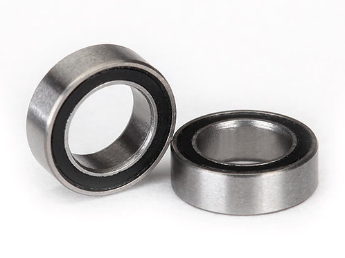TRA5114A Traxxas Ball Bearing, Black Rubber Sealed (5x8x2.5mm) (2)
