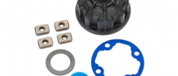 TRA8681 Traxxas Carrier, differential (heavy duty)/ x-ring gaskets (2)/