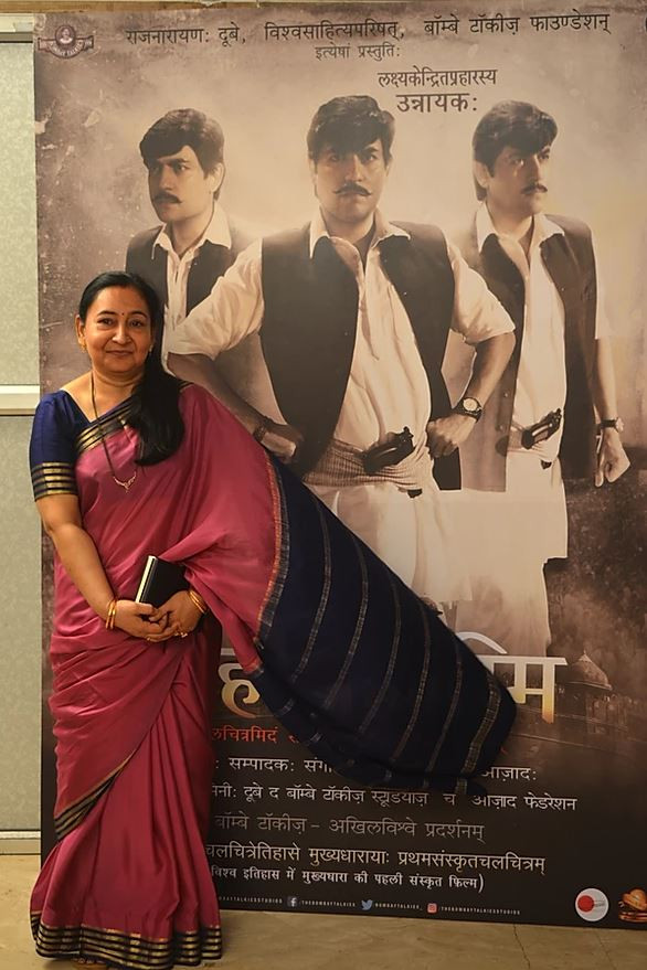 Kamini Dube at The Bombay Talkies Studios