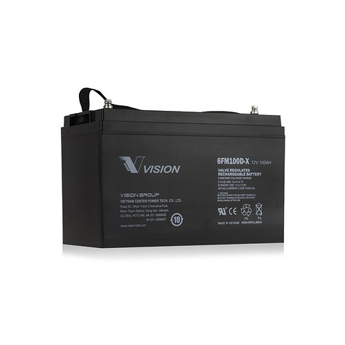 Vision Deep Cycle 12V 100AH Battery