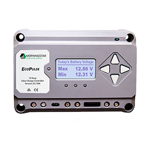 Morning Star ECOPULSE PWM 12/24V 20AMPW/Meter