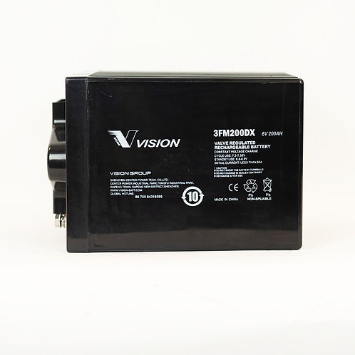 Vision Deep Cycle 6V 200AH Battery