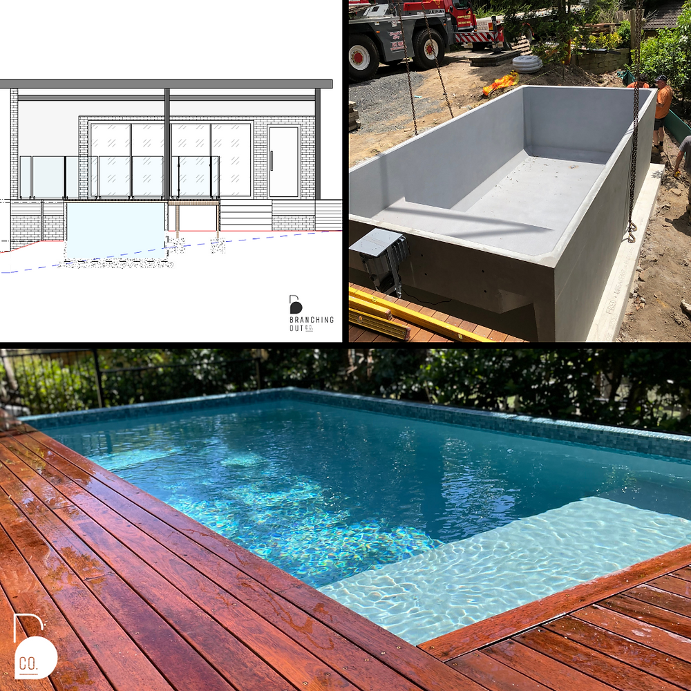 A visual guide to the process from the planning stage, construction works through to the completion of the pool.