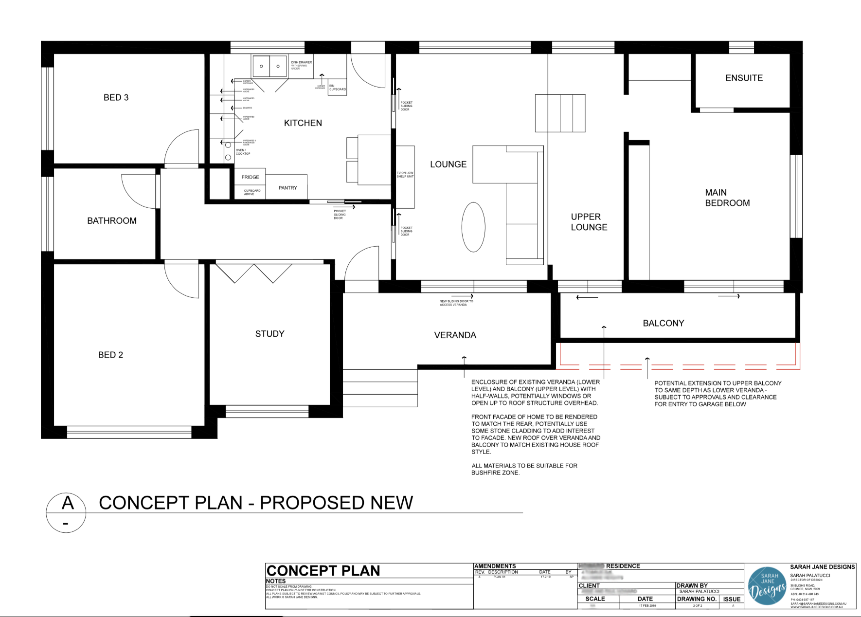 Residential Design - Concept Plan