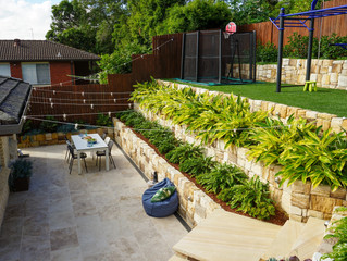Landscaping on Sydney's Northern Beaches