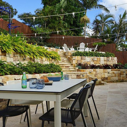 Perfect place to sit back relax or entertain at our Narraweena project this long weekend. _Photograp