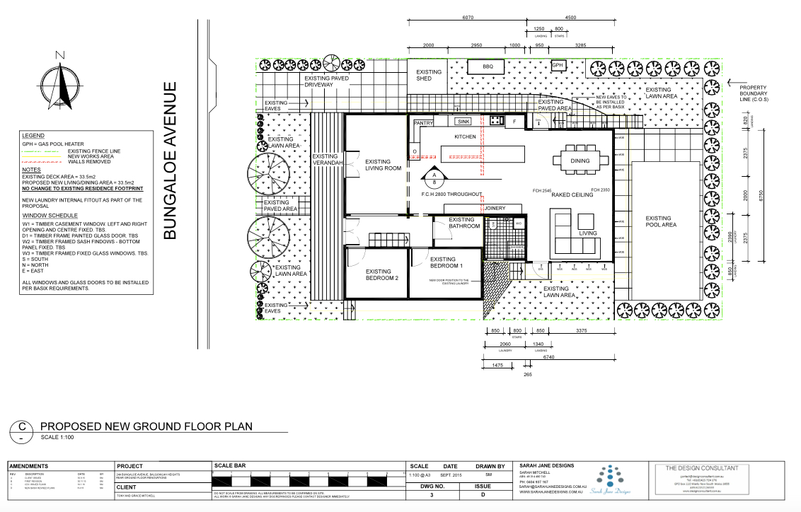 Residential Design - Proposed new