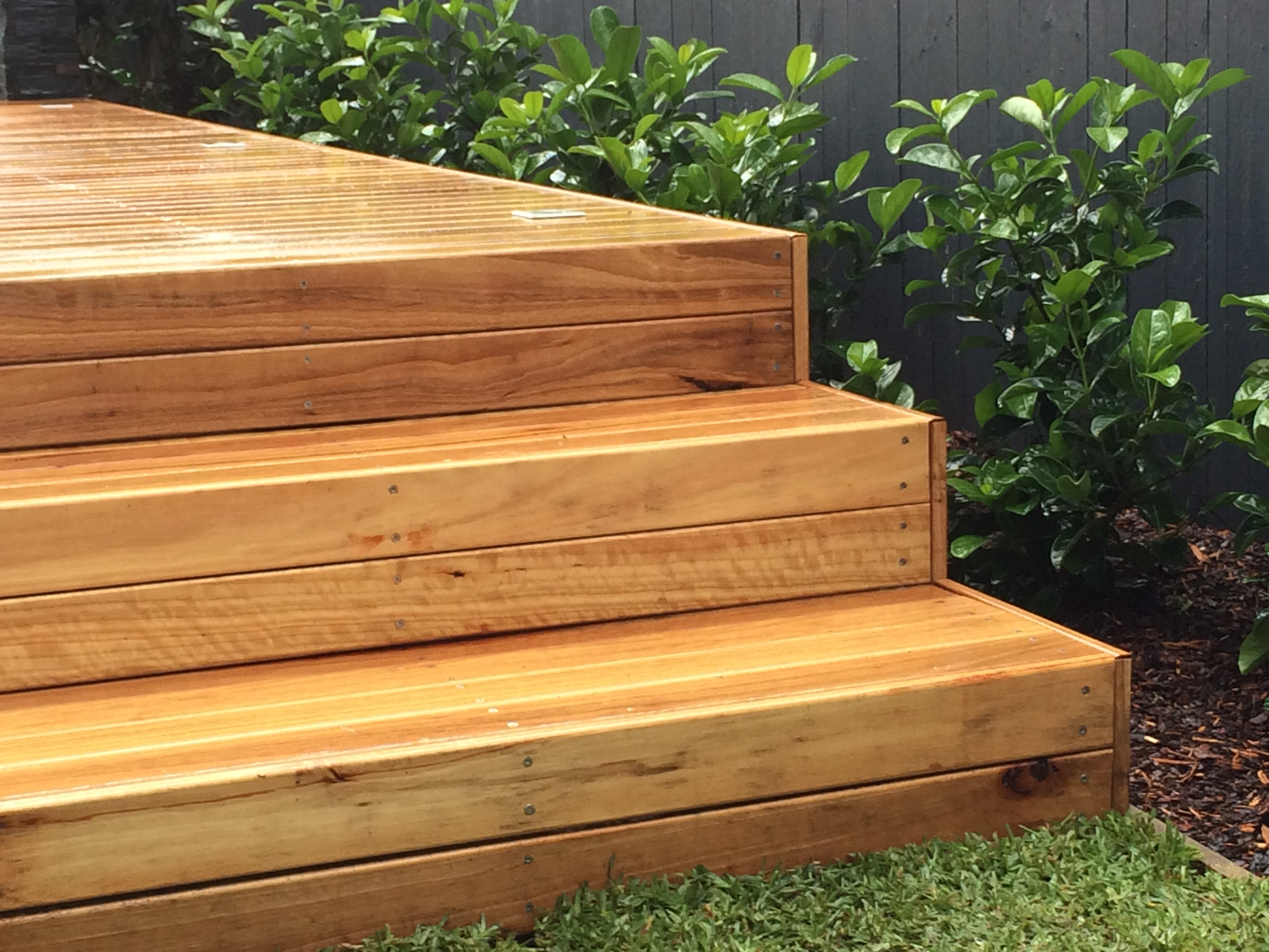 Blackbutt Timber Stair Idea