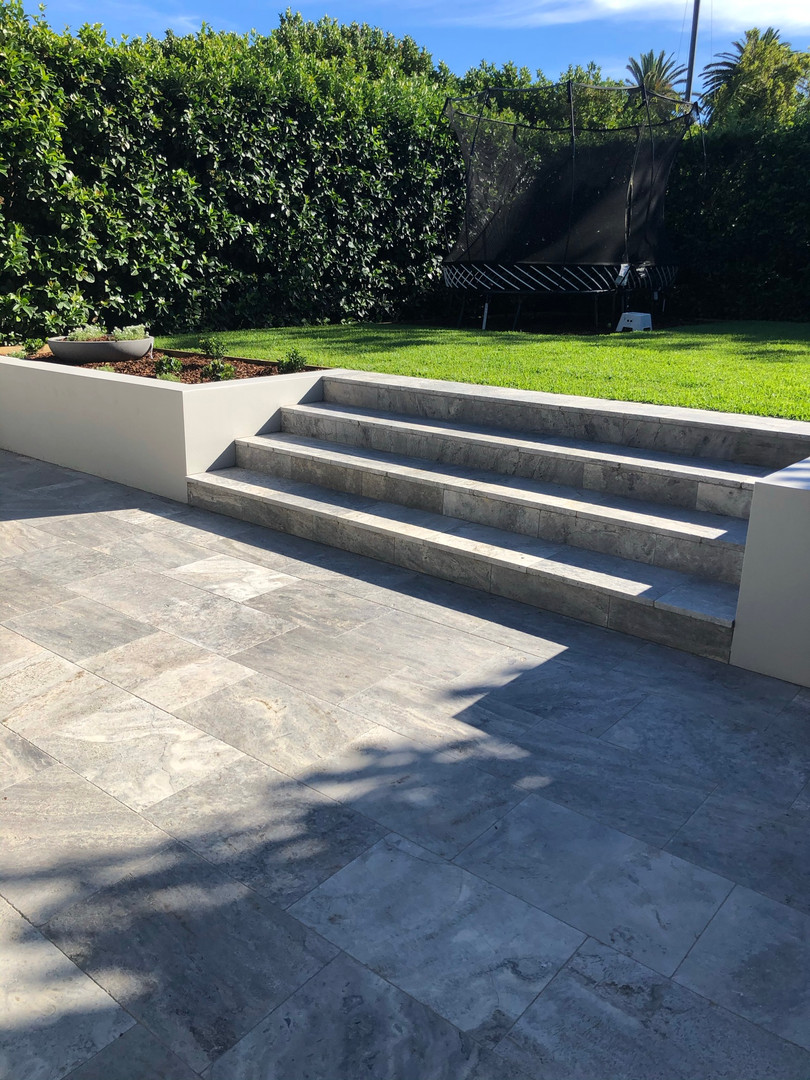 Paving and stairs