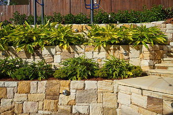 Branching out landscaping, northern beaches, sydney, retaining wall