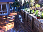 Branching out landscaping, northern beaches, sydney, decking, timber, retaining wall