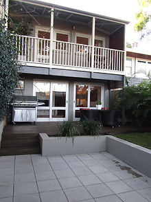 Branching out landscaping, northern beaches, sydney, outdoor room, paving, decking, turfing, planting