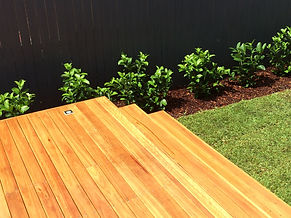 Branching out landscaping, northern beaches, timber stairs, timber deck, Narraweena