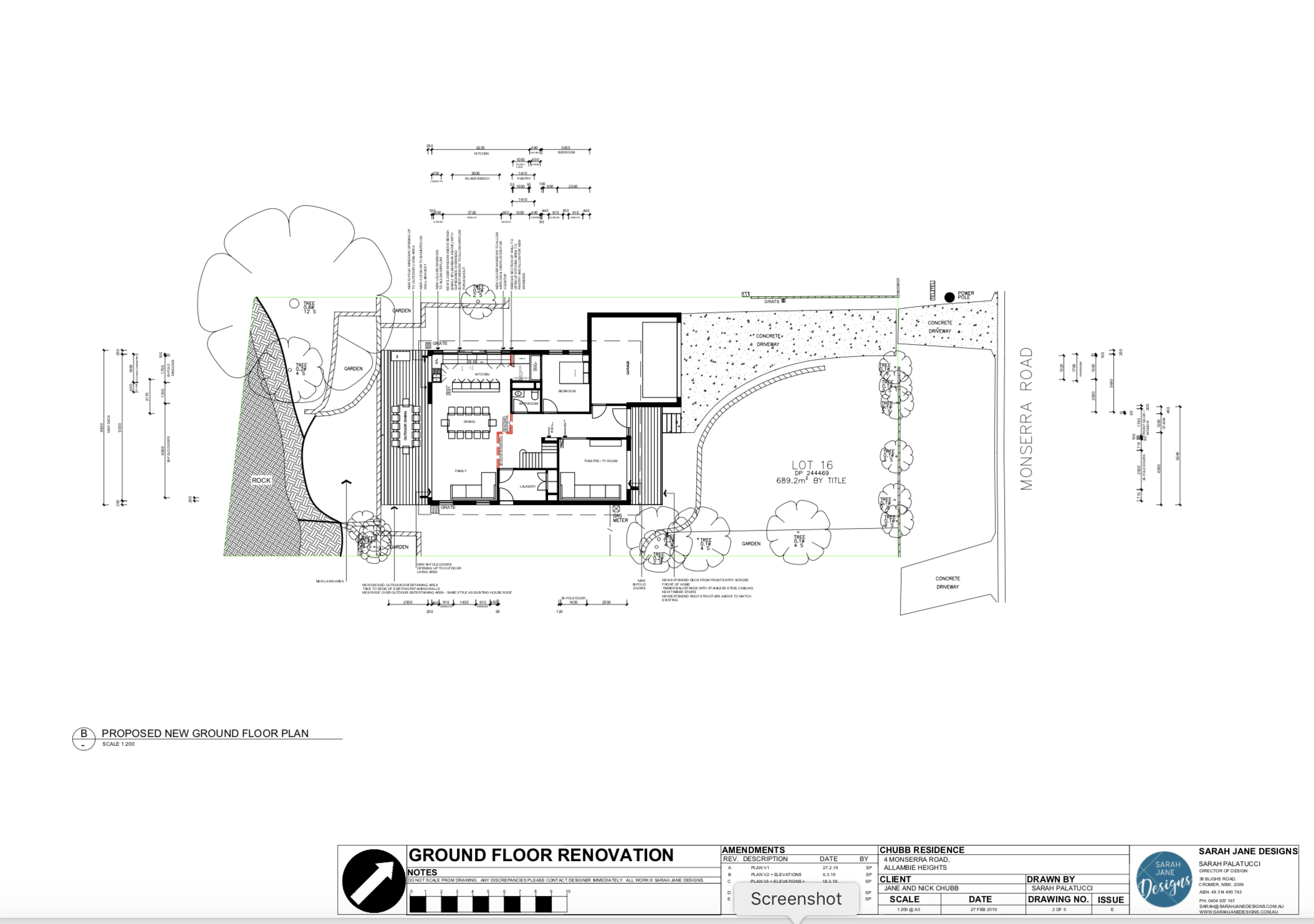 Residential Design - Floorplan