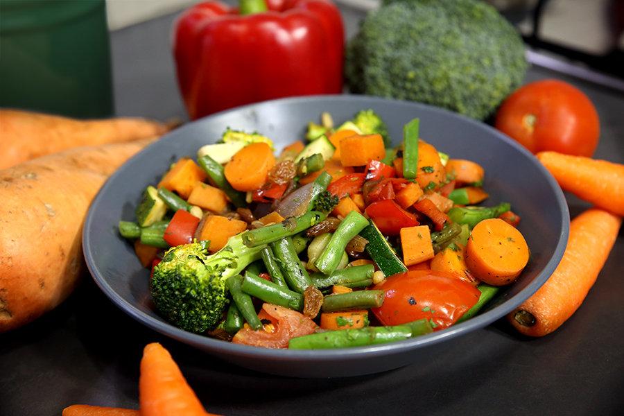 Jarrah Honey Vegetable Stir-Fry