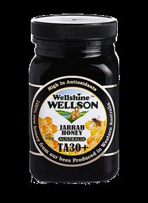 Jarrah Honey 500g TA30+ by Wellshine Wellson Australia
