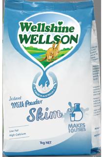 Skim Milk Powder Wellshine Wellson 1kg