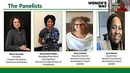 WCRP leaders talk gender wealth gap & affordable housing in Women's Way Forum