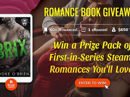 Win a Bundle of Steamy Contemporary Romance!