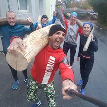 1.Training, Michael, Martin, Gabi, Mehmet
