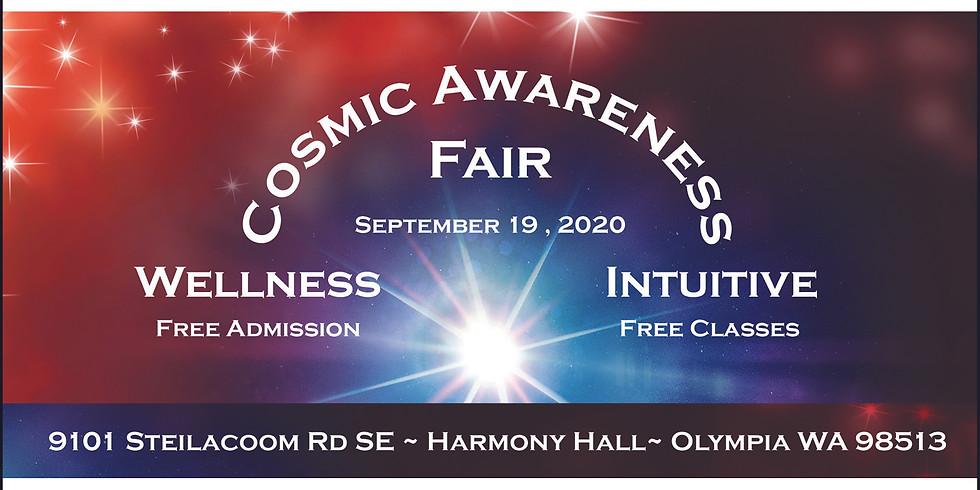 Postponed to 2021 Cosmic Awareness Wellness & Intuitive Fair