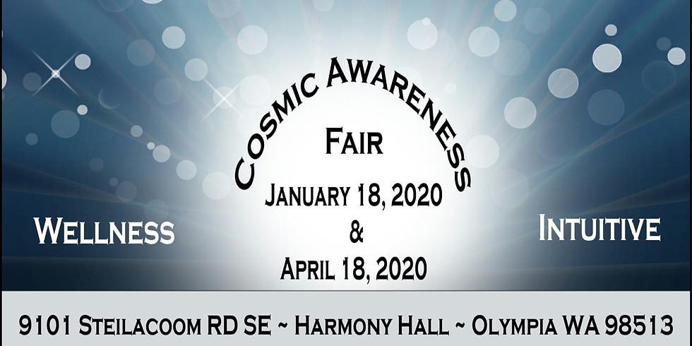 5th Annual Cosmic Awareness Wellness & Intuitive Fair