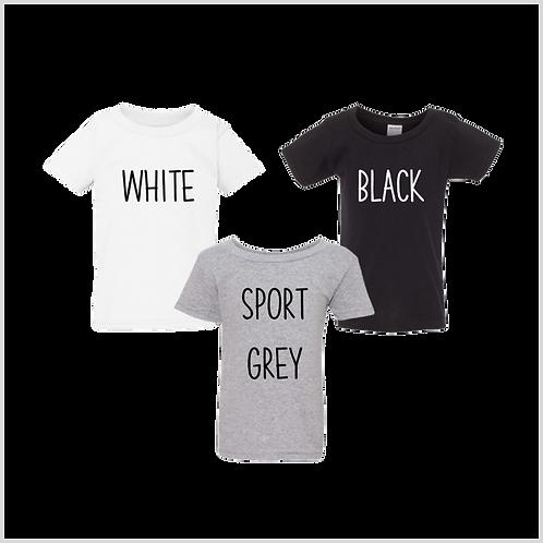 Toddler Short Sleeve Shirt, Neutrals
