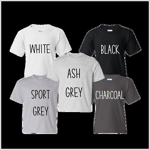 Youth Short Sleeve Shirt, Neutrals