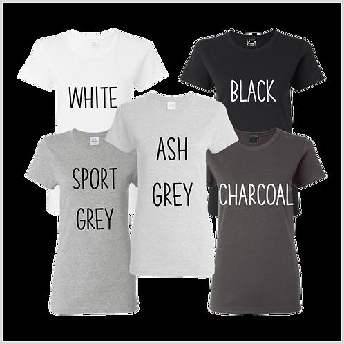 Women's Short Sleeve Shirt, Neutrals
