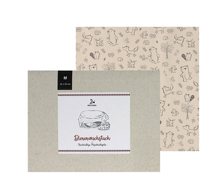 """Bienenwachstuch """"M"""" (25x25 cm - Kids)"""