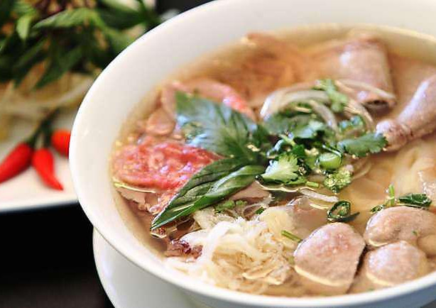 The 'Works' Pho soup