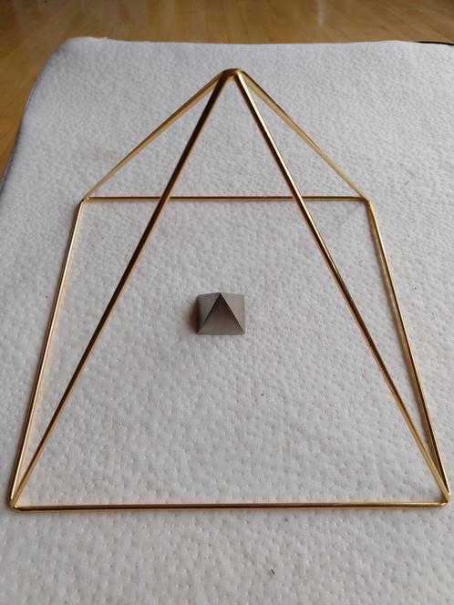 38-Inch Apex Giza style copper pyramid