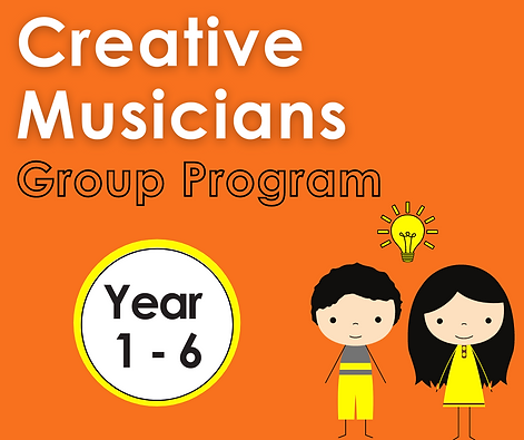 Creative Musicians group classes for school age children