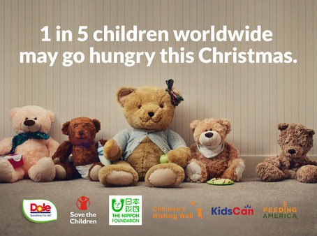 #UnstuffedBears campaign focuses on sad statistic: 1 in 5 children may go hungry this Christmas